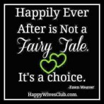 Happy Wife Happy Life – NOT!!!